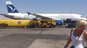 Transport lotniczy         Airport Hurghada